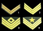 Confederate Cavalry Insignia Chevrons [Allow 5-6 Weeks]